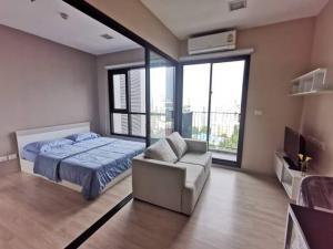 เช่าคอนโดพระราม 9 เพชรบุรีตัดใหม่ : 💕 ให้เช่าห้องสวย Condo lette midst rama9 ชั้น 18 ไม่ร้อน 1 ห้องนอน 🚅 ใกล้ MRT พระราม9 เดินได้ 1 ห้องนอน พร้อมอยู่ได้เลย