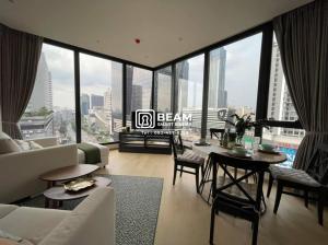 For RentCondoRama9, RCA, Petchaburi : AT013_N 💖 ***Condo Ashton Asoke-Rama9 near MRT Rama 9 just 1 minute, new room, fully furnished, 270 degree view**
