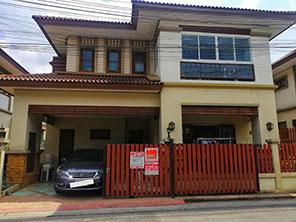 For SaleHouseNakhon Pathom, Phutthamonthon, Salaya : House for sale, beautiful decoration, Narawadee village, Phutthamonthon Sai 4