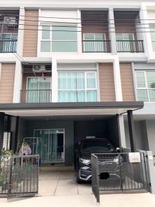 For SaleTownhouseRama 2, Bang Khun Thian : 3-storey townhome for sale, Lumpini Town Park Village Tha Kham - Rama 2
