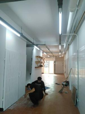 For RentShophouseRatchadapisek, Huaikwang, Suttisan : Urgent rent, 3-storey commercial building, Soi Prachasongkhra 22