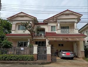 For RentHouseRama5, Ratchapruek, Bangkruai : House for rent, Nantawan Village, Rama 5, Nakhon In Road, convenient transportation