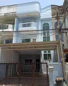 For RentTownhouseYothinpattana,CDC : Rent 3-storey townhome in the village of 84 Mansion * good location, clear, comfortable, can be made into an office