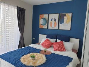 For SaleCondoOnnut, Udomsuk : LL-LS534 for sale, the green condominium, Soi Punnawithi 28, beautiful room, corner room, 2 windows, airy, the best price in the project Installment cheaper than rent +++