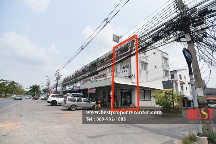 ขายตึกแถว อาคารพาณิชย์นวมินทร์ รามอินทรา : ขายอาคารพาณิชย์ ห้องริม พร้อมสัญญาเช่า 7-11 ติดถนนพระยาสุเรนทร์ 38 หน้าหมู่บ้านและแหล่งชุมชนขนาดใหญ่