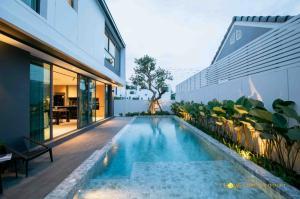 For SaleHouseChiang Mai : C7MG100219 Pool villa 3 bedrooms 4 bathrooms Selling price 12.9 million baht.