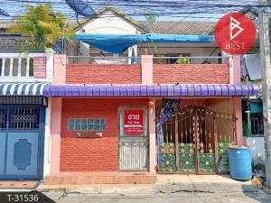 For SaleTownhouseSamrong, Samut Prakan : Townhouse for sale Bhumen Niwet 4, Project 1, Phra Samut Chedi, Samut Prakan