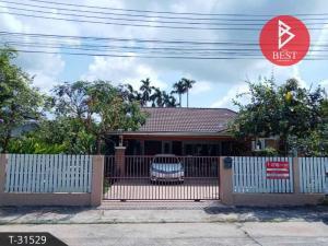 For SaleHouseChanthaburi : House for sale, beautiful decoration. Areewan Village Property 4 Chanthaburi