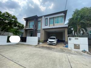 For SaleHousePinklao, Charansanitwong : # House for sale, Casa Legend Ratchaphruek-Pinklao Village, size 64.7 sq m, corner house, 3 bedrooms, 2 bathrooms, 1 kitchen, 1 living room (# Casa Legend Ratchaphruek-Pinklao) Selling price 13,500,000 baht (Including transfer)