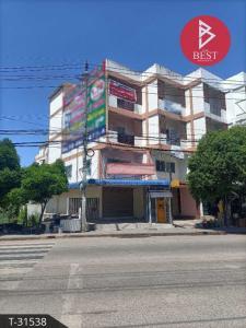 For SaleShophouseSamrong, Samut Prakan : ขายอาคารพาณิชย์ 4 ชั้น ประชาอุทิศ ในคลองปลากด สมุทรปราการ 