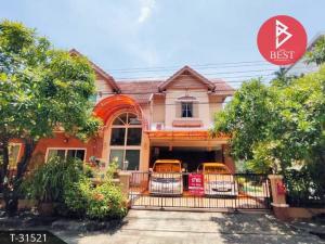 For SaleHouseSamrong, Samut Prakan : House for sale Wararom Lake View Village, Thepharak, Samut Prakan