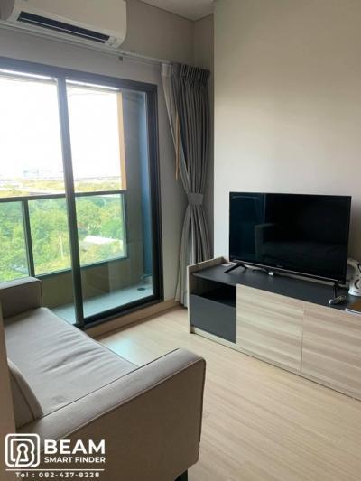 เช่าคอนโดพระราม 9 เพชรบุรีตัดใหม่ : LP006_N**LPN Suite Phetburi Makkasan  ห้องนอน ตกแต่งใหม่ เฟอร์ครบ**