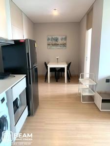 เช่าคอนโดพระราม 9 เพชรบุรีตัดใหม่ : LP007_N**LPN Suite Phetburi Makkasan 2 ห้องนอน แอร์ 3 ตัว แต่งสวยหรู ห้องเฟอร์ครบ**