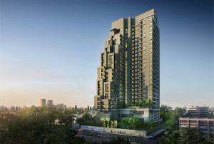 For SaleCondoWongwianyai, Charoennakor : NYG021  Condo for sale, Teal Sathorn-Taksin, size 58.9 sq m. Corner room, nice view