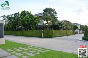 For SaleHouseRamkhamhaeng,Min Buri, Romklao : House for sale Masterplece Perfect Place Ramkhamhaeng 164 beautiful house on the corner