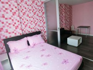 For RentCondoBangna, Lasalle, Bearing : dCondo Campus Resort Bangna Near Assumption University, 30 sq.m 1Bedroom Clear View, Fully furnished
