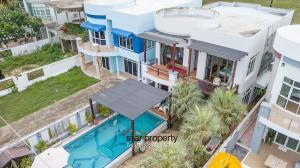 For SaleHouseHua Hin, Prachuap Khiri Khan, Pran Buri : Beach Front 2 Storey Villa for Sale SH90231.