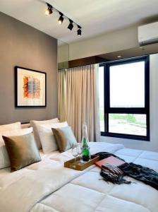 For SaleCondoChiang Mai : For sale, Escent Condominium, Chiang Mai, quality condo, cheap price, next to Central Festival Chiang Mai.
