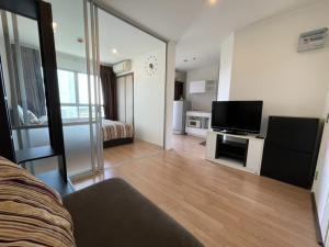 For SaleCondoBangna, Lasalle, Bearing : 🔥 Urgent sale 🔥 Lumpini Maga City Bangna 1 Br. Size 27 sq.m. - Corner room - Private end !!