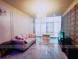ขายคอนโดรัชดา ห้วยขวาง : Condo Amanta Ratchada, MRT Thailand Cultural Centre, 2 Bed, Tower 2, Fl. 7, Area 98 sq.m., Sale 8.7MB, Rent 35,000 Baht