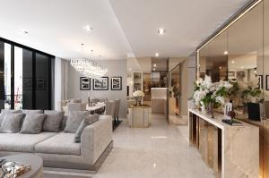 For RentCondoWitthayu, Chidlom, Langsuan, Ploenchit : For rent Noble Ploenchit 3 bed duplex