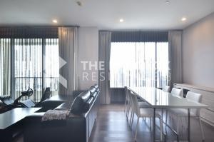 For RentCondoRama9, RCA, Petchaburi : Q Asoke luxury condo for rent, good price, high floor, 80,000 baht / month, 137Sqm, 3 bedrooms, 3 bathrooms, near MRT Phetchaburi.