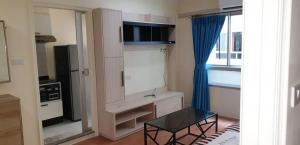 For RentCondoRatchadapisek, Huaikwang, Suttisan : CR24 Condo for rent Lumpini Ville Cultural Center LUMPINI VILLE CULTURAL CENTER near Mrt Huai Khwang