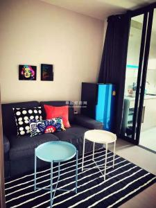 For RentCondoOnnut, Udomsuk : Quick rent!! Condo for rent life sukhumvit 62, good view, near BTS Bang Chak, complete electrical appliances, ready to move in, size 30 sq.m., 18th floor, rental price: 10,500 baht / month