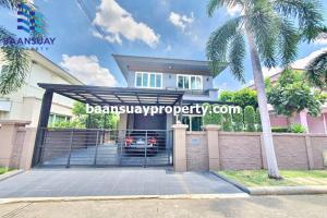 For SaleHouseRama5, Ratchapruek, Bangkruai : 2 storey detached house for sale