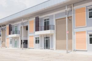 For RentFactorySamrong, Samut Prakan : Warehouse / factory for rent with office, Purple area, Phra Samut Chedi, Samut Prakan 工厂 出租