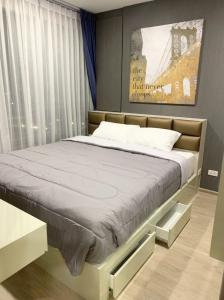 For RentCondoBangna, Lasalle, Bearing : 💥🎉Hot deal for renting Ideo O2 [Ideo O2] beautiful room, good price, convenient transportation, complete furniture Ready to move in immediately Make an appointment to see the room.