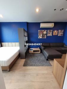 For RentCondoSiam Paragon ,Chulalongkorn,Samyan : For rent, Ideo Q chula samyan, Studio room, size 29 sq.m., please contact 0654649497.