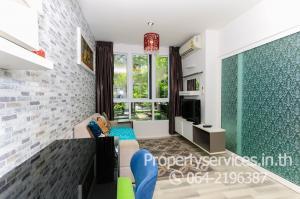 For RentCondoThaphra, Wutthakat : Condo for rent, The Key Sathorn, Ratchapruek, 1 bedroom, washing machine 8000