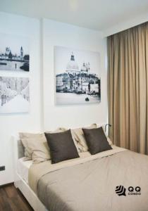 For RentCondoOnnut, Udomsuk : For Rent WYNE SUKHUMVIT  1Bed , size 30 sq.m., Beautiful room, fully furnished.