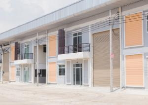 For RentFactoryRathburana, Suksawat : For Rent Warehouse / Factory Rental With new office, new condition, purple area Soi Suksawat Phra Samut Chedi Area 300 - 700 square meters, very good location