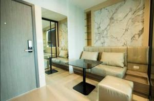 For RentCondoThaphra, Wutthakat : HM-0127 Condo for rent, Ideo Tha Phra Interchange, rare item room, located on the short wing side, private is one of the best corner, very good view, fully furnished, ready to move in, convenient to travel.