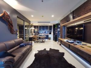 เช่าคอนโดพระราม 3 สาธุประดิษฐ์ : For rent >> Star View, 2 bedrooms 44 floor, Chao Phraya River view.