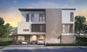 For SaleHouseRama9, Petchburi, RCA : Selling Ultra Luxury house in Rama 9 with Private Pool , 4 Floors