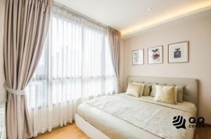 For RentCondoSukhumvit, Asoke, Thonglor : For Rent H Sukhumvit 43 - 2 Bed, size 60 sq.m., Beautiful room, fully furnished.