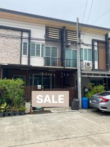 For SaleTownhouseRama 2, Bang Khun Thian : Townhome for sale: Gusto Rama 2 (064-6654666)