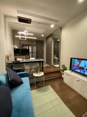 For RentCondoAri,Anusaowaree : For rent Ideo Q Victory Nice room, fully furnished, 1 Bedroom 34 sqm 24,000 / month