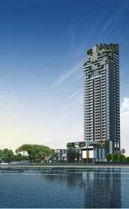 For SaleCondoPattaya, Bangsaen, Chonburi : For Sale condo luxury from price of 6.7 MB to only 4.3 MB