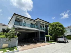 For RentHouseBangna, Lasalle, Bearing : Luxury house for rent in Bangna KM.7, corner plot, 5 bedroom fully furnished
