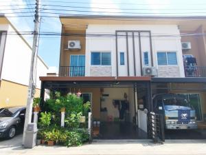 For SaleTownhouseRama 2, Bang Khun Thian : Pleno Suksawat 66, corner plot, complete addition, beautiful, ready to move in, only 3.49 million