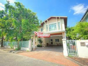 For RentHouseYothinpattana,CDC : 2 storey detached house for rent, new, elegant, near Ramindra Expressway, Art Narong / Nuanchan
