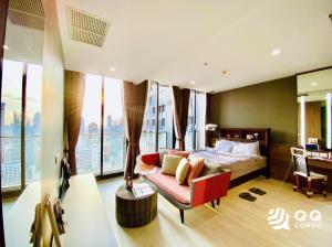For RentCondoWitthayu, Chidlom, Langsuan, Ploenchit : For Rent Noble Pleonchit - Studio, size 46 sq.m., Beautiful room, fully furnished.