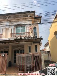 ขายทาวน์เฮ้าส์/ทาวน์โฮมมีนบุรี-ร่มเกล้า : ขาย ทาวน์เฮ้า 2ชั้น หมู่บ้านรุ่งกิจ แกรนด์ วิสต้า ถนนหทัยราษฏ์ มีนบุรี