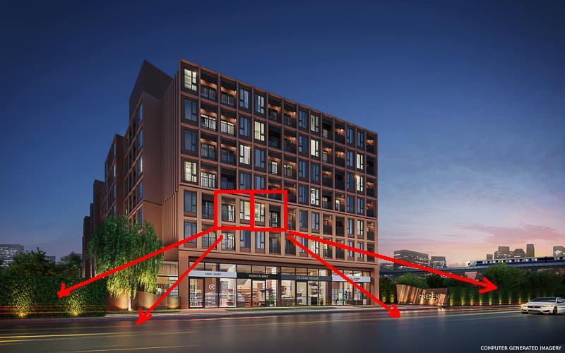 ขายดาวน์คอนโดแจ้งวัฒนะ เมืองทอง : ขายดาวน์ OneDer Kaset A318 และ A319 ตึก A ชั้น 3 ราคา โปรโมชั่น 1.69 ล้าน