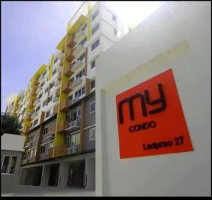 For SaleCondoLadprao, Central Ladprao : For Sale My Condo Ladprao 27 Tel: 094-3546541 Line: @luckhome Code: LH00365
