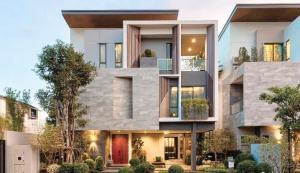 ขายบ้านพัฒนาการ ศรีนครินทร์ : POJ 283 ขายวิลล่าหรู 2 หลังสุดท้าย!!! The Gentry Pattanakarn วิลล่าหรู 3 ชั้น สไตล์โมเดิร์น พร้อมลิฟต์ส่วนตัว